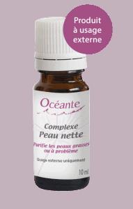 huile essentielle peau grasse Océante